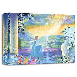Cinderella ''The Life She Dreams Of'' Giclée by John Rowe
