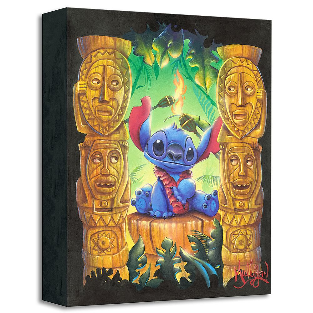 Stitch ''Tiki Trouble'' Giclée by James C. Mulligan Official shopDisney