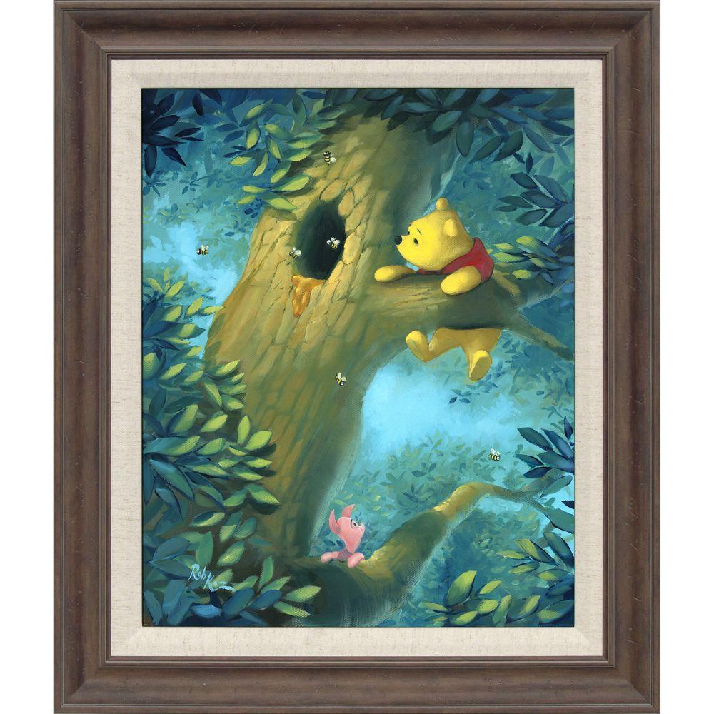 Winnie the Pooh ''Curious Bear'' Giclée by Rob Kaz