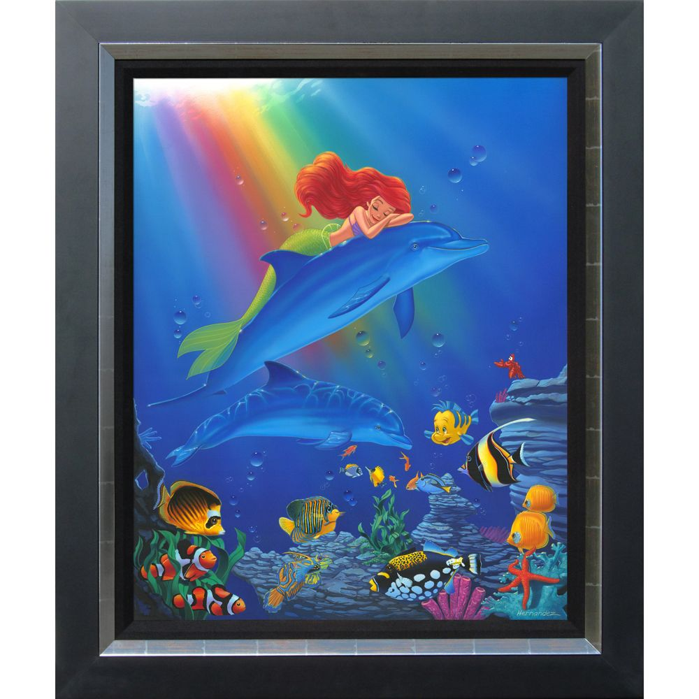 Ariel ''Underwater Dreams'' Giclée by Manuel Hernandez Official shopDisney