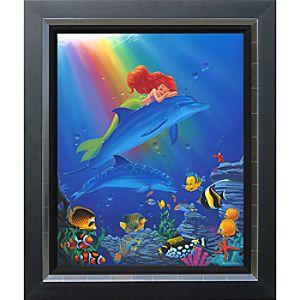 """Ariel """"Underwater Dreams"""" Giclée by Manuel Hernandez"""