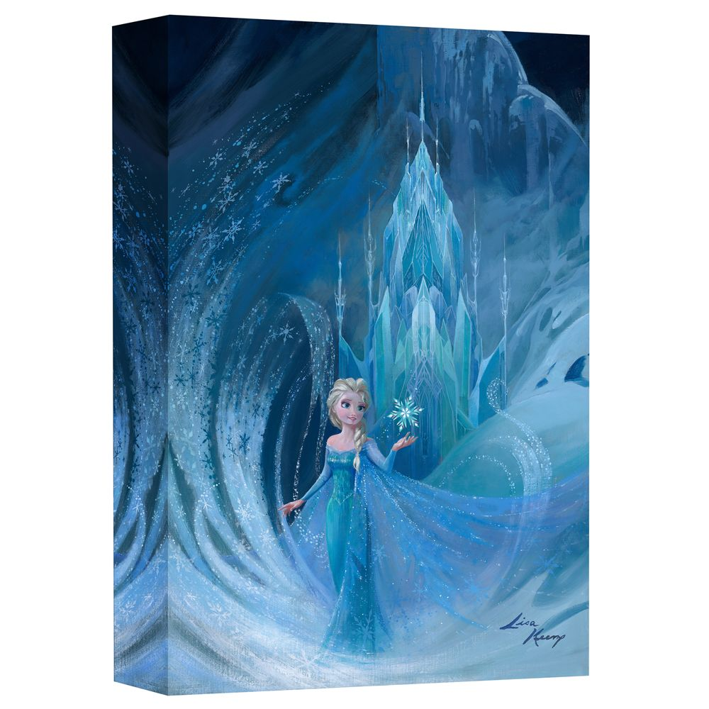 Elsa ''Well Now They Know'' Giclée on Canvas by Lisa Keene Official shopDisney