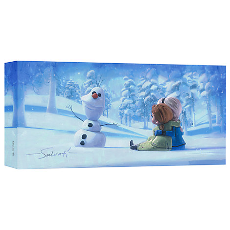 Frozen ''Memories of Magic'' Giclée on Canvas by Jim Salvati