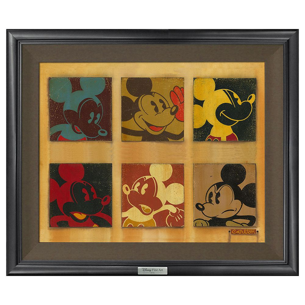 ''6-Up Mickey'' Giclée on Canvas by Trevor Carlton  Limited Edition Official shopDisney