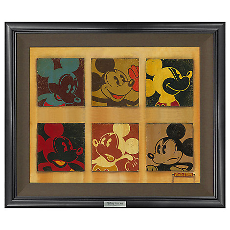 ''6-Up Mickey'' Giclée on Canvas by Trevor Carlton - Limited Edition