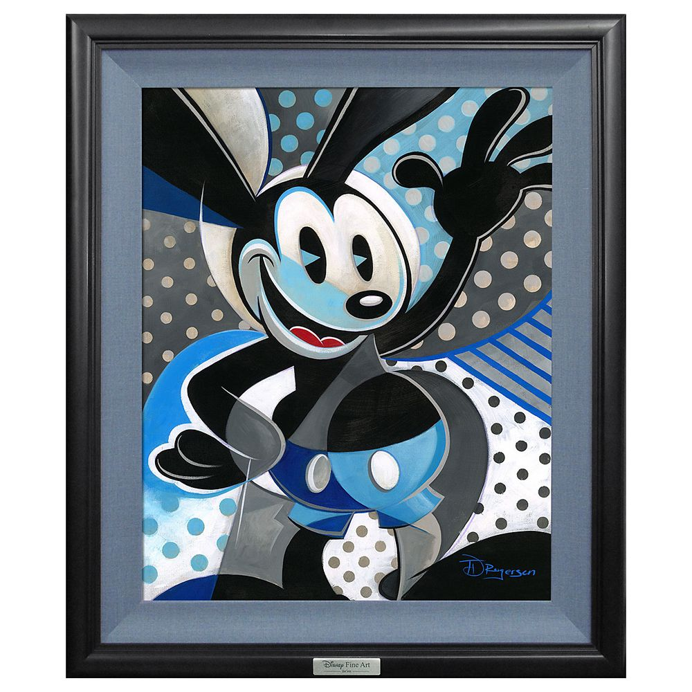 ''Oswald the Lucky Rabbit'' Giclée on Canvas by Tim Rogerson – Limited Edition