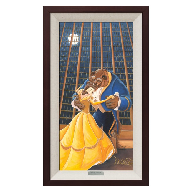 Beauty and the Beast ''A Beautiful Dance'' Giclée on Canvas by Michelle St.Laurent