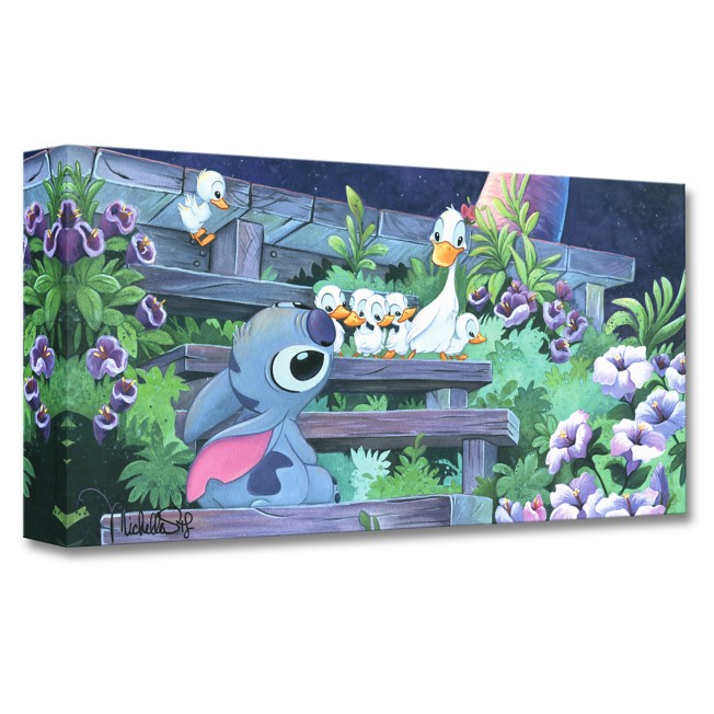 Stitch ''Family Blossoms'' Giclée by Michelle St. Laurent