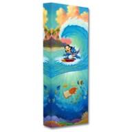 Lilo & Stitch ''Hawaiian Roller Coaster'' Giclée by Tim Rogerson