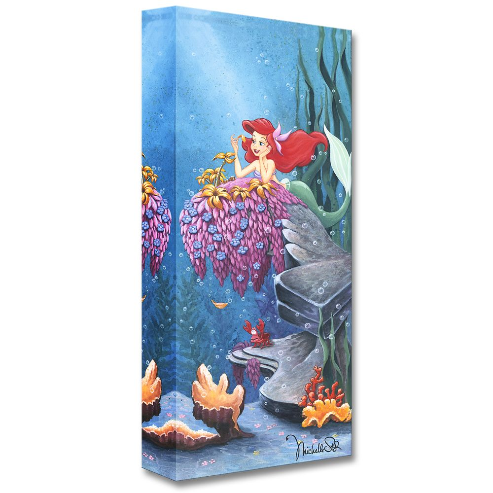 The Little Mermaid ''He Loves Me'' Giclée by Michelle St.Laurent
