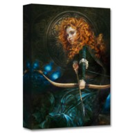 Merida ''Her Father's Daughter'' Giclée by Heather Edwards