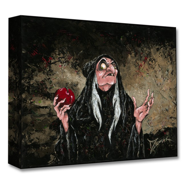 Evil Queen as Hag ''The Magic Wishing Apple'' Giclée by Trevor Mezak