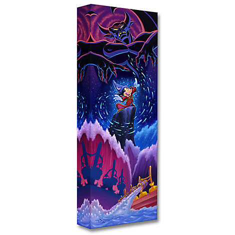 Sorcerer Mickey Mouse ''Triumph of Imagination'' Giclée by Tim Rogerson