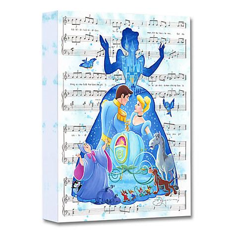 Cinderella ''Bibbidi-Bobbidi-Boo'' Giclée on Canvas by Tim Rogerson