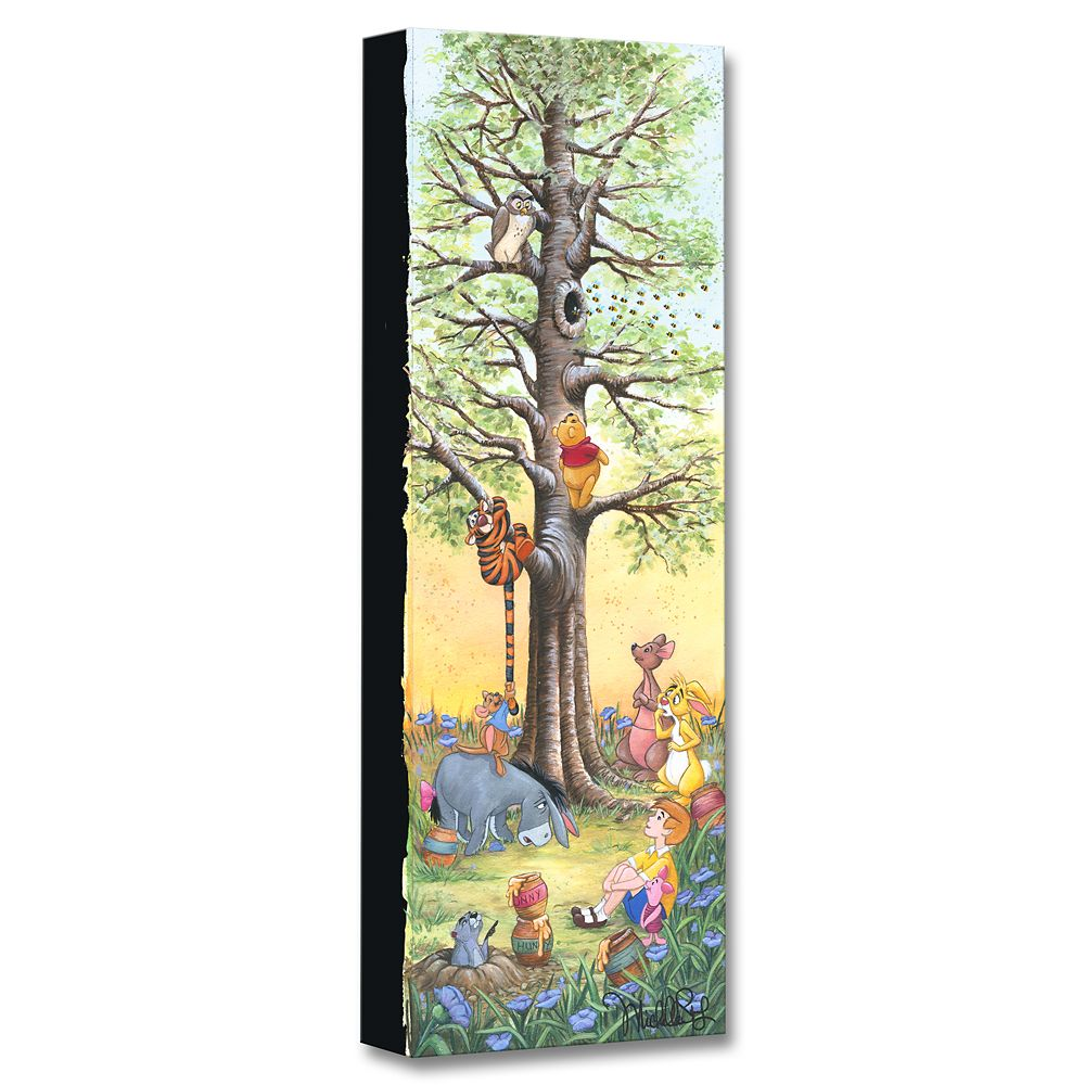 Winnie the Pooh ''Tree Climbers'' Giclée on Canvas by Michelle St.Laurent