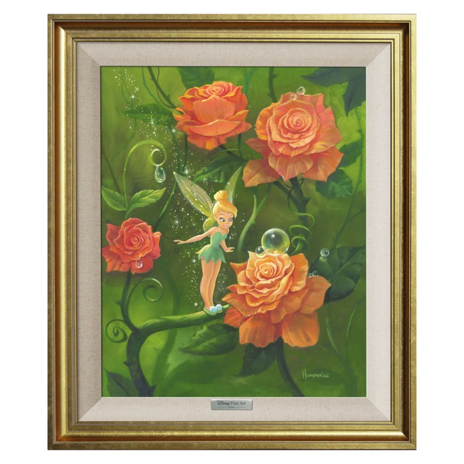 Tinker Bell ''Tinker Bell's Garden'' Giclée on Canvas by Michael Humphries