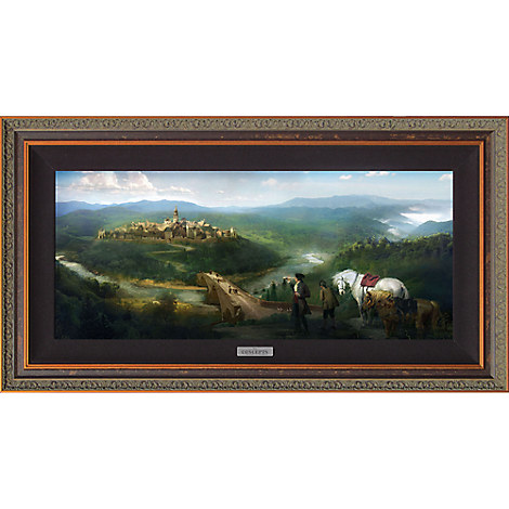 ''Gaston and LeFou's Arrival'' Limited Edition Giclée - Beauty and the Beast - Live Action Film