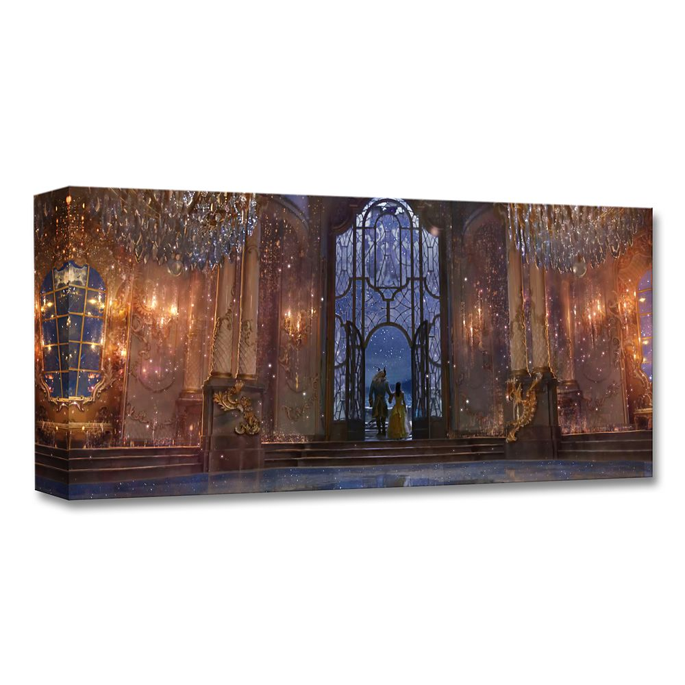 ''Castle Ballroom Interior'' Limited Edition Giclée  Beauty and the Beast  Live Action Film Official shopDisney