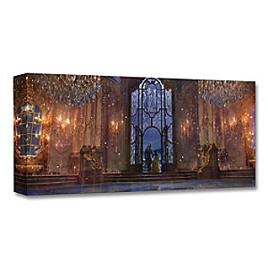 """""""Castle Ballroom Interior"""" Limited Edition Giclée – Beauty and the Beast – Live Action Film"""