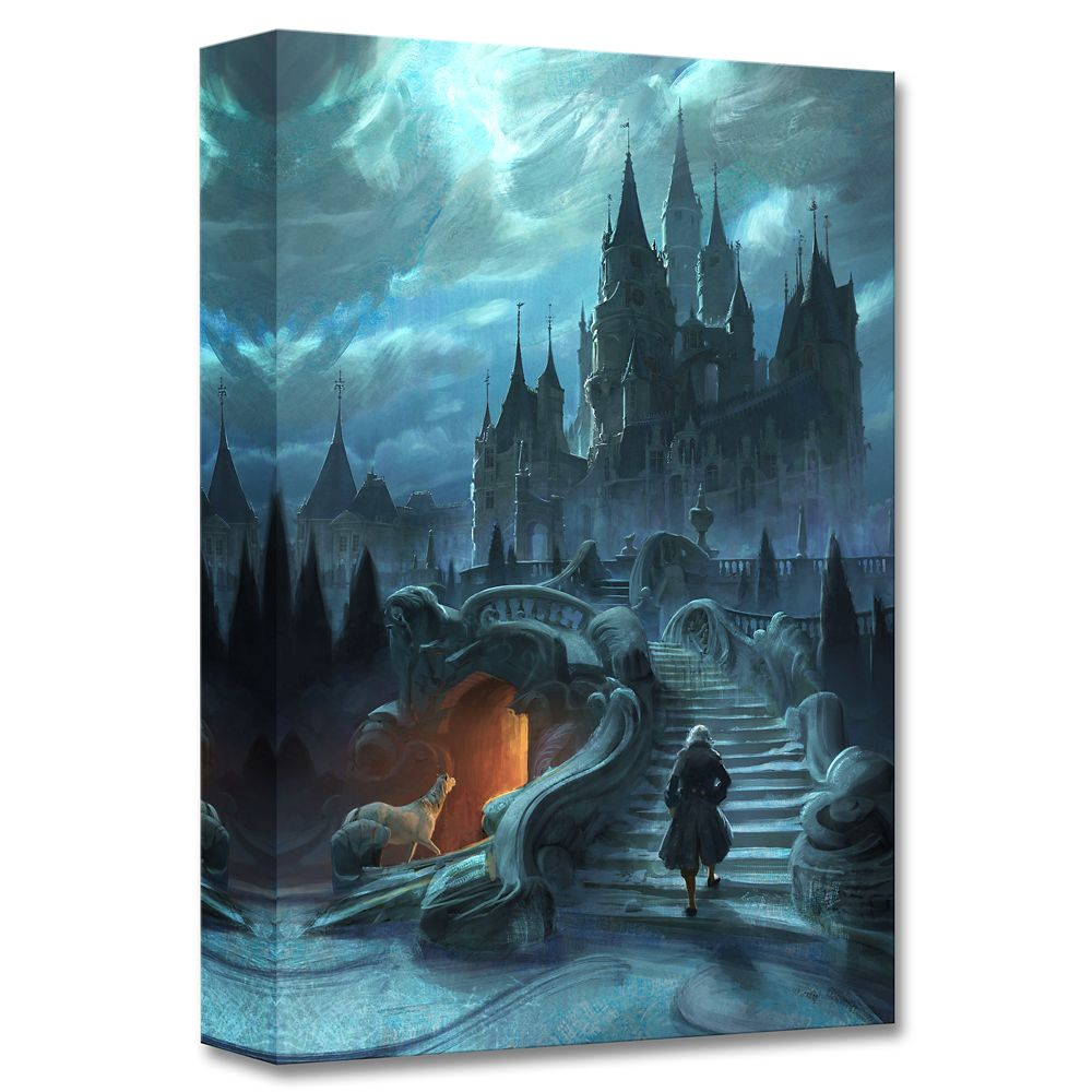 ''Castle Exterior Approach'' Limited Edition Giclée – Beauty and the Beast – Live Action Film