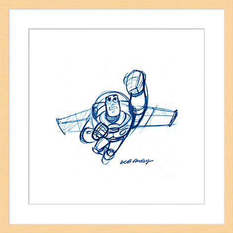 Buzz Lightyear ''Buzz'' Framed Giclée on Paper by Bob Pauley - Limited Edition
