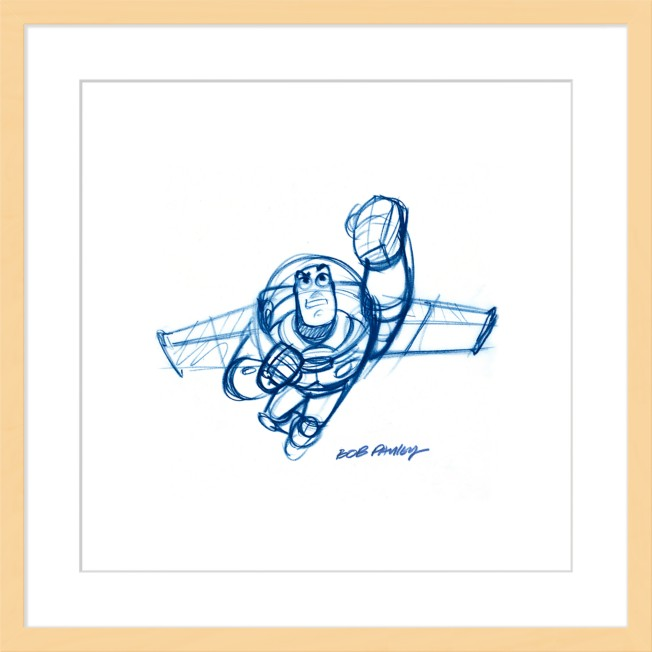 Buzz Lightyear ''Buzz'' Framed Giclée on Paper by Bob Pauley – Limited Edition