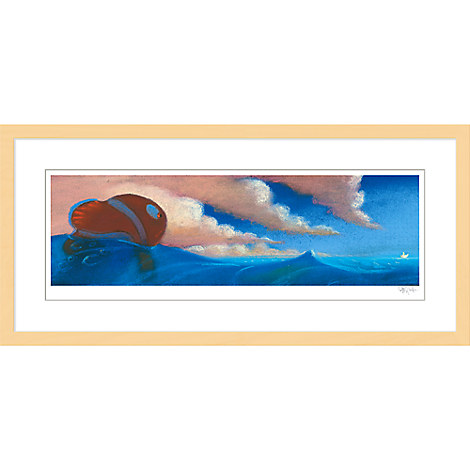 Finding Nemo ''Sequence Pastel: Drop Off'' Framed Giclée on Paper by Ralph Eggleston - Limited Edition