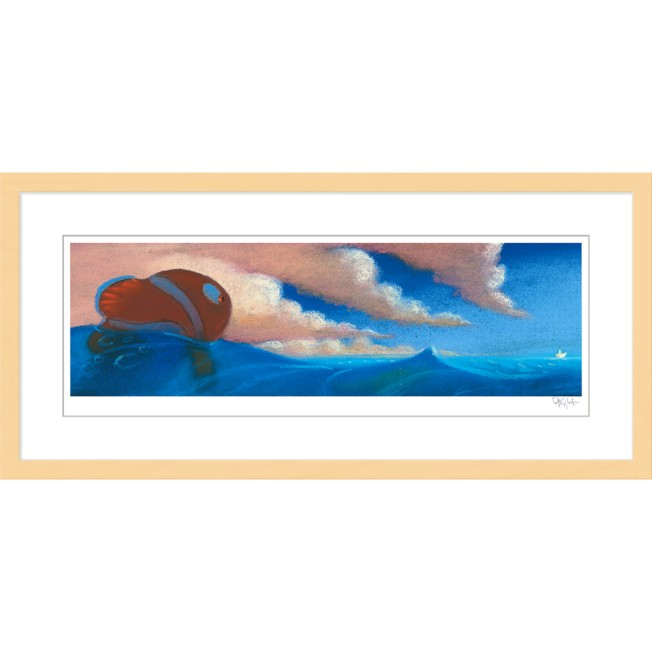 Finding Nemo ''Sequence Pastel: Drop Off'' Framed Giclée on Paper by Ralph Eggleston – Limited Edition