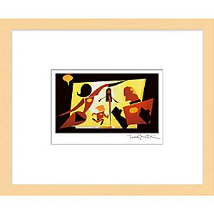 ''The Incredible Family'' Framed Giclée on Paper by Teddy Newton - Limited Edition