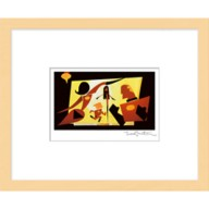 ''The Incredible Family'' Framed Giclée on Paper by Teddy Newton – Limited Edition