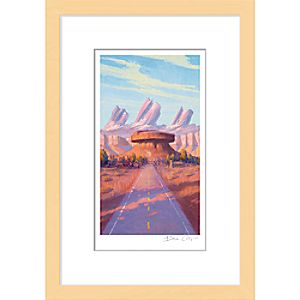 Cars ''Radiator Cap'' Framed Giclée on Paper by Bill Cone - Limited Edition