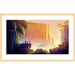 "Up ""Tepui"" Framed Giclée on Paper by Lou Romano – Limited Edition"