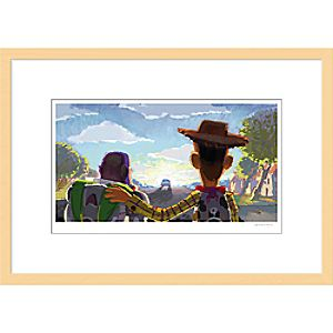 Toy Story 3 ''Beat Board: Goodbye Andy'Framed Giclée on Paper by Robert Kondo - Limited Edition