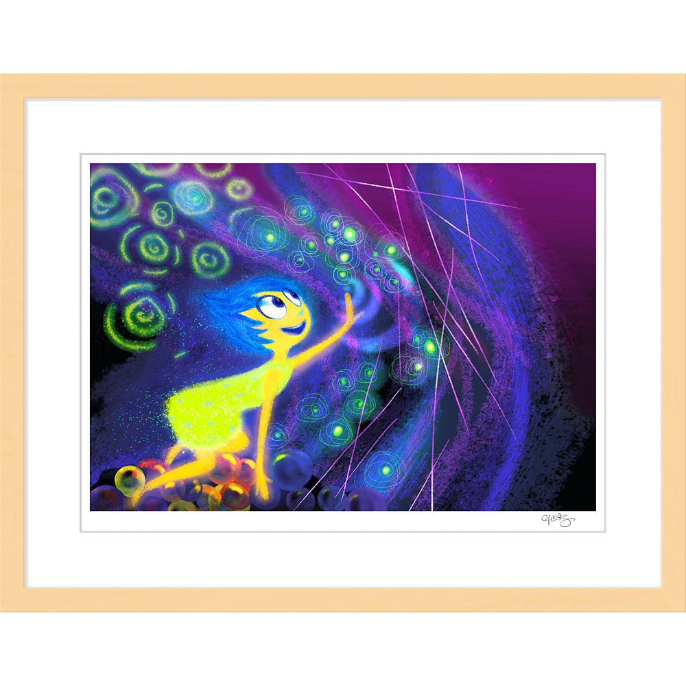 Inside Out ''Joy'' Framed Giclée on Paper by Ralph Eggleston – Limited Edition