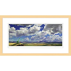''The Good Dinosaur Colorscript'' Framed Giclée on Paper by Sharon Calahan - Limited Edition