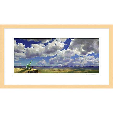 ''The Good Dinosaur Colorscript'' Framed Giclée on Paper by Sharon Calahan - Limited Edition