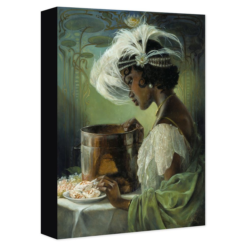 Tiana ''Dig a Little Deeper'' Gicle on Canvas by Heather Edwards Official shopDisney