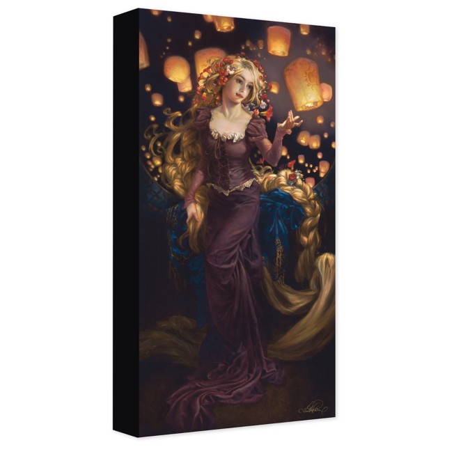 Rapunzel ''I See the Light'' Canvas Giclée on Canvas by Heather Edwards