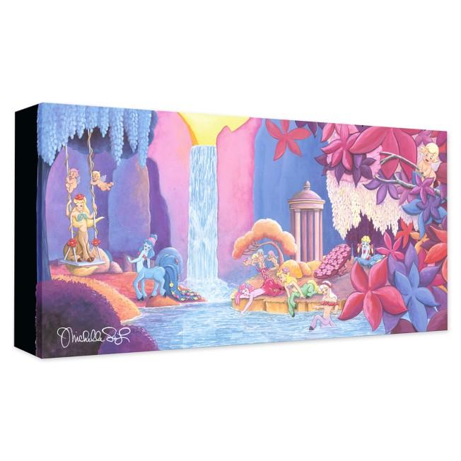 Fantasia ''Garden of Beauty'' Giclée on Canvas by Michelle St. Laurent