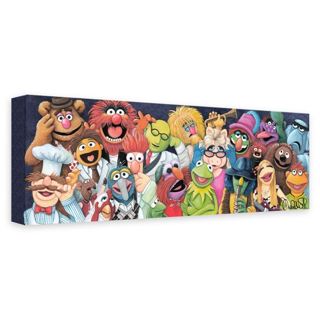 The Muppets ''Backstage at the Show'' Giclée on Canvas by Michelle St. Laurent