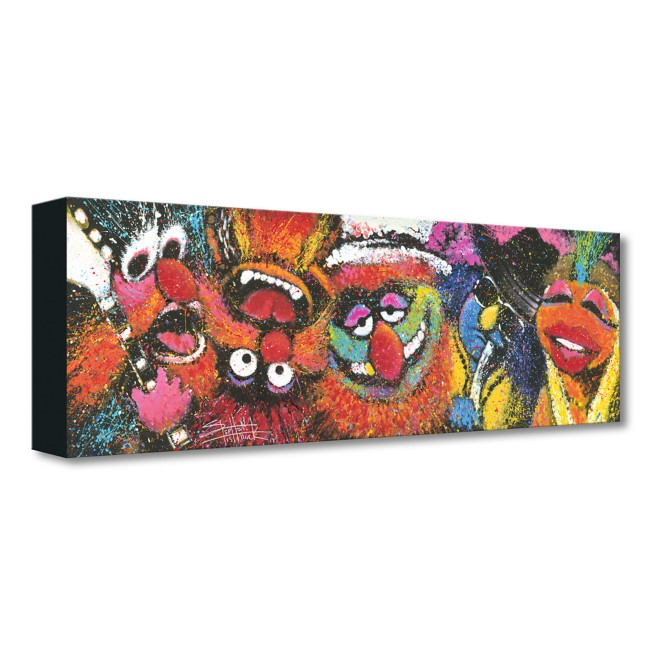 The Muppets ''Electric Mayhem'' Giclée on Canvas by Stephen Fishwick