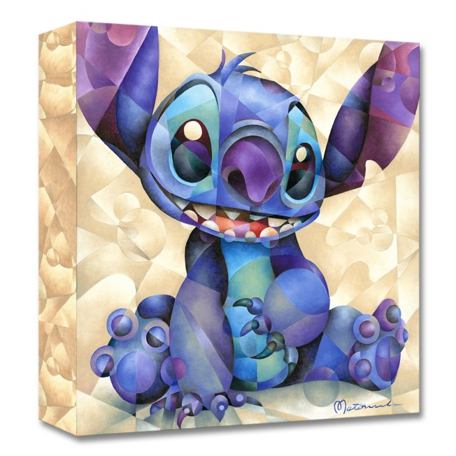 Stitch ''Cute and Fluffy'' Giclée on Canvas by Tom Matousek