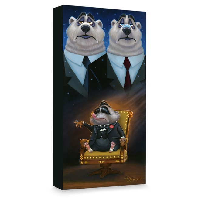 ''Mr. Big'' Giclée on Canvas by Tim Rogerson – Limited Edition