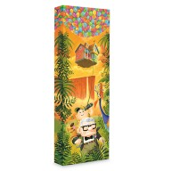 Up ''Journey to Paradise Falls'' Giclée on Canvas by Tim Rogerson