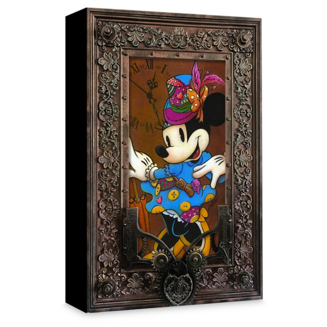 Minnie Mouse ''Steam Punk Minnie'' Giclée on Canvas by Krystiano DaCosta