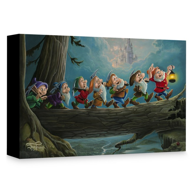 Snow White and the Seven Dwarfs ''Home to Snow'' Giclée on Canvas by Jared Franco