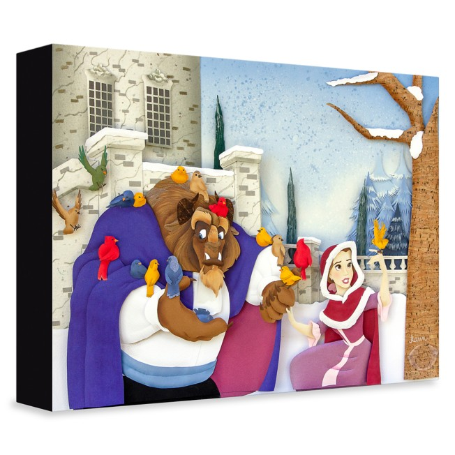 Beauty and the Beast ''A Gentle Beast'' Giclée on Canvas by Karin Arruda –  Limited Edition