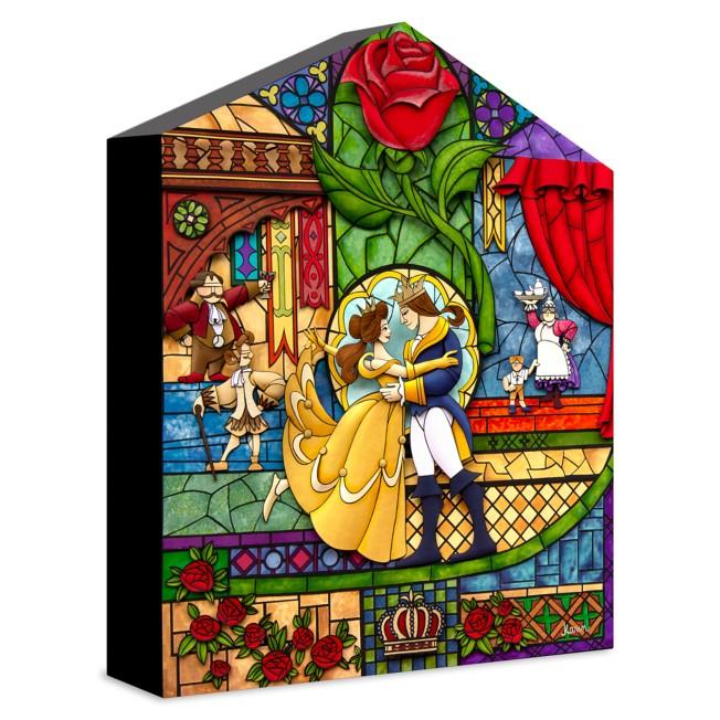 Beauty and the Beast ''Our Fairytale'' Giclée on Canvas by Karin Arruda – Limited Edition