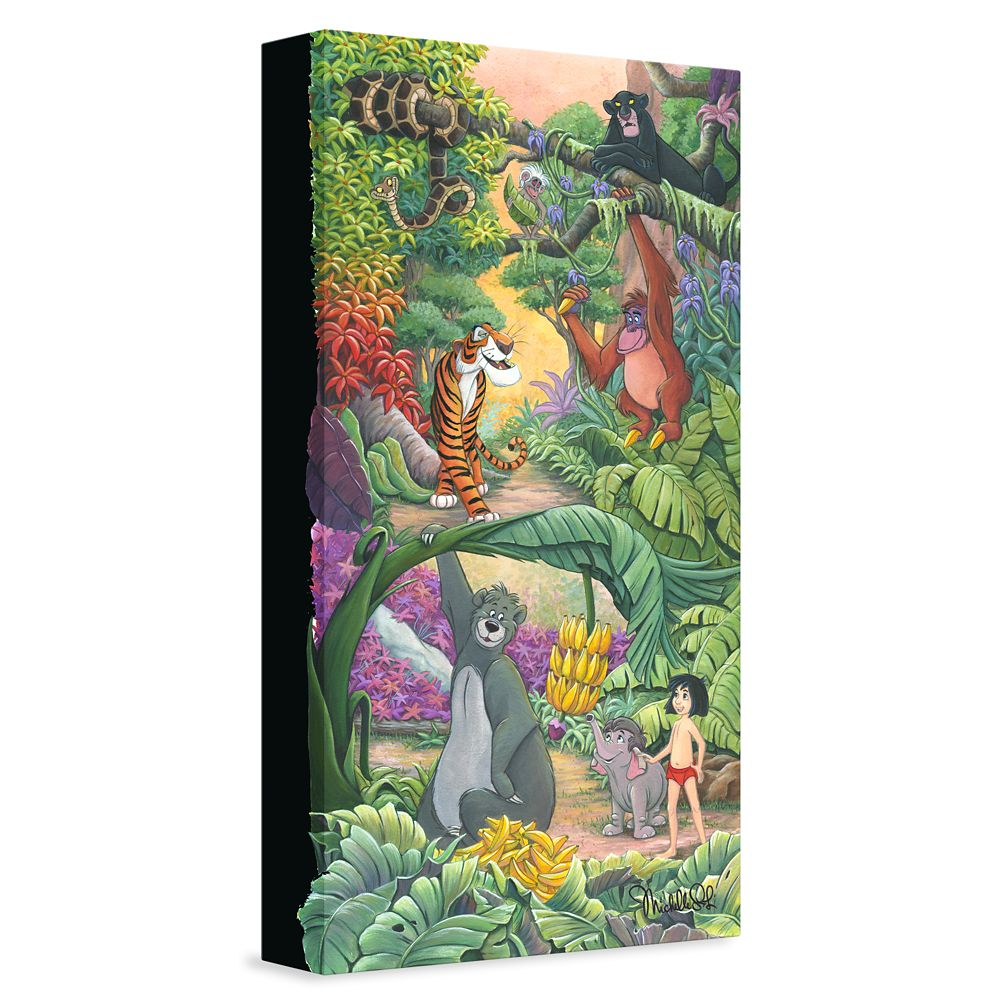 ''Home in the Jungle'' Giclée on Canvas by Michelle St. Laurent – Limited Edition