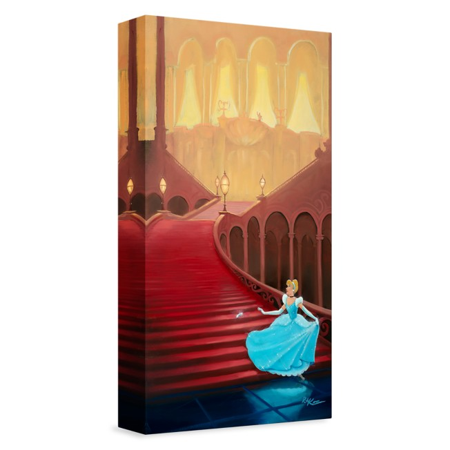 ''At the Stroke of Midnight'' Giclée on Canvas by Rob Kaz –  Limited Edition